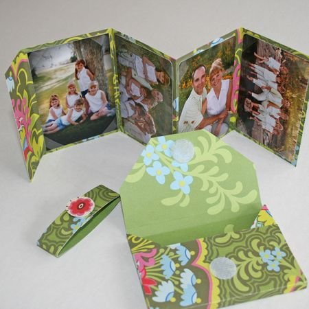 Mini Photo Album in an Envelope