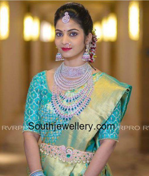 Madhuri Reddy in Diamond Jewellery