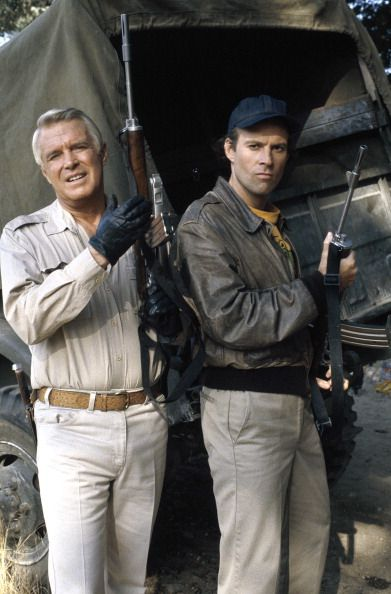 George Peppard as Col John 'Hannibal' Smith Dwight Schultz as Capt HM 'Howling Mad' Murdock