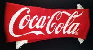 World Cup 2014 Coca-Cola Adidas scarf. Genuine FIFA.