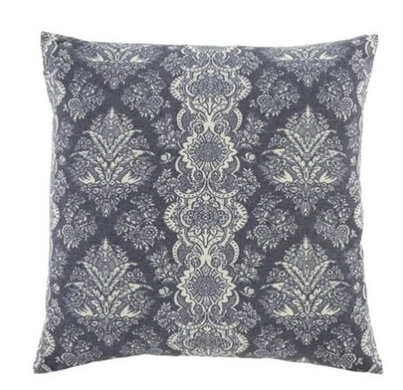 Indigo Iris Cushion