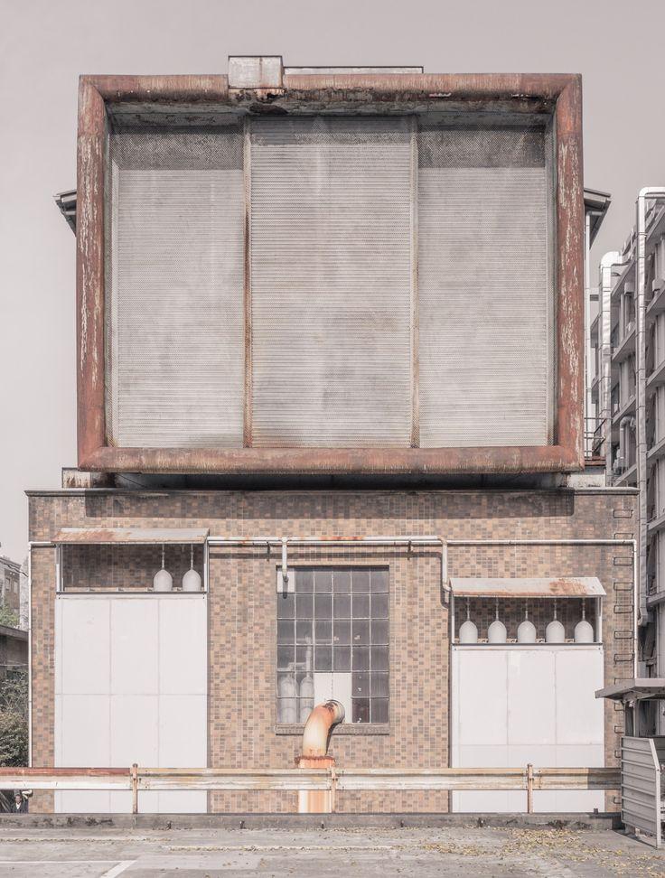 Odd service building, The University of Tokyo  © Jan Vranovsky, 2015