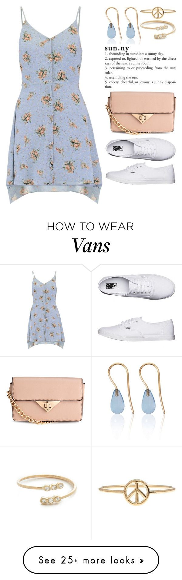 """Ready for Summer 3698"" by boxthoughts on Polyvore featuring Vans, Love Is, Zoë Chicco and Aurélie Bidermann"