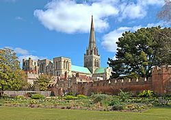 Chichester is a cathedral city in West Sussex, in South-East England