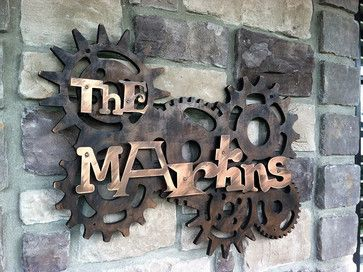 Address Plaques - eclectic - house numbers - indianapolis - by ...