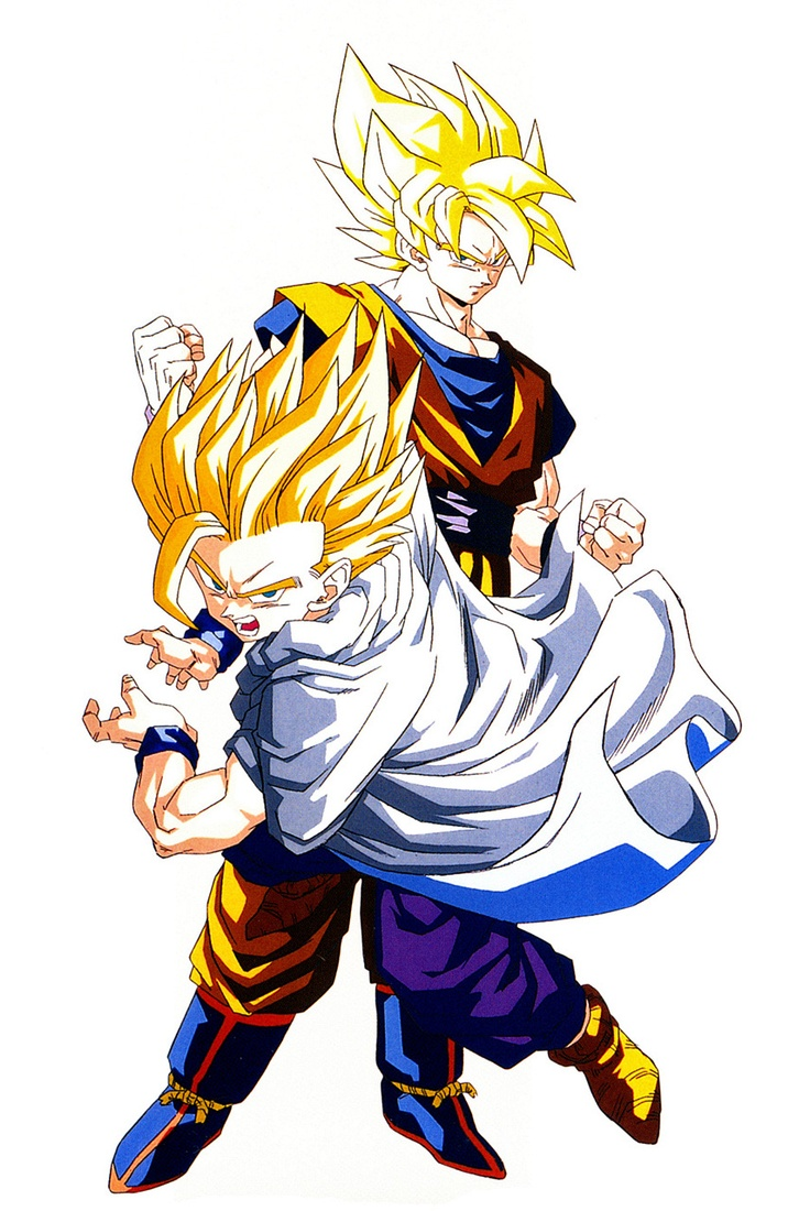 201 best images about gohan on pinterest android 18 - Dragon ball z goku son ...