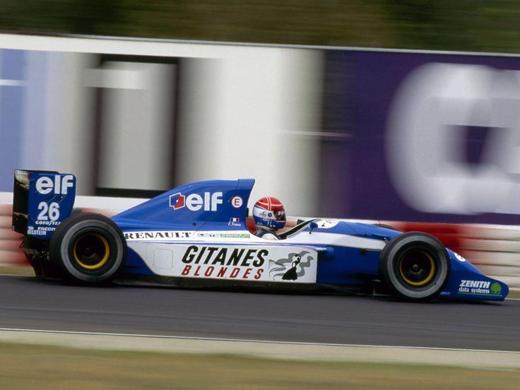 1992 Ligier Gitanes JS37 - Renault Eric Comas