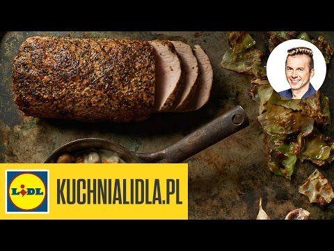 🍖 Schab pieczony z ziołami - Karol Okrasa - Przepisy Kuchni Lidla