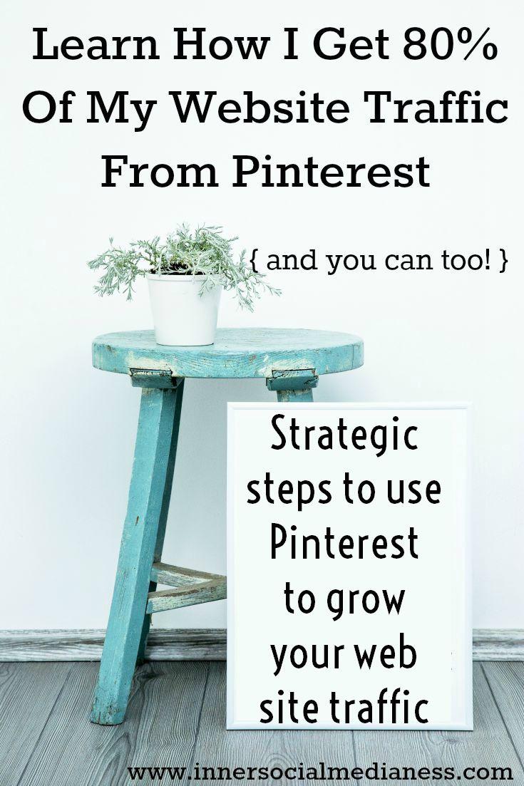Pinterest Traffic Builder strategic steps for the smart feed.