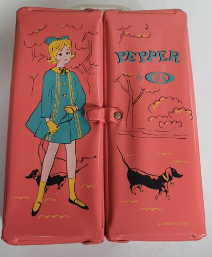 Vintage Pepper by IDEAL Toy Corp. Doll Box Nice Condition! Barbie