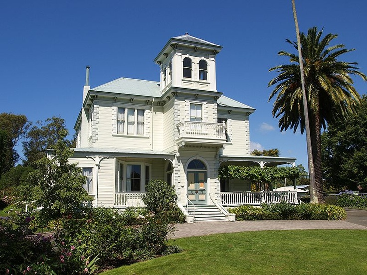 Duart House (1882), Havelock North, Hawke's Bay Region, New Zealand on the slopes of Te Mata Peak.