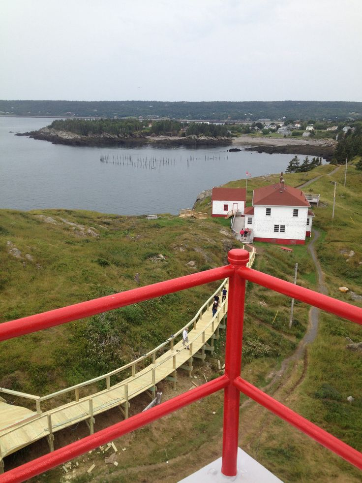 From the top of Swallow Tail lighthouse, Grand Manan