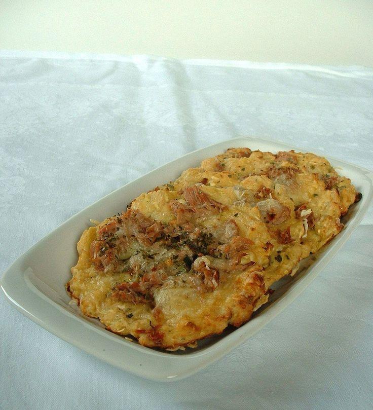 cukkinis-sajtos minipizza