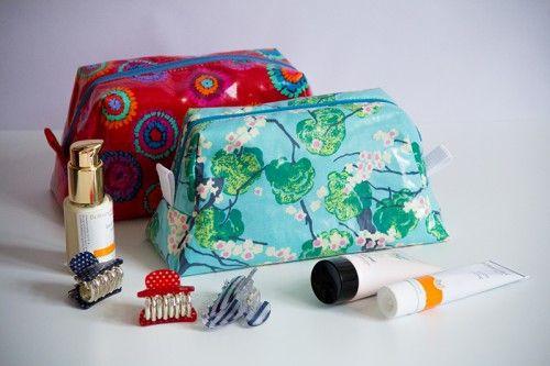 Fabrics and Cosmetic Bag