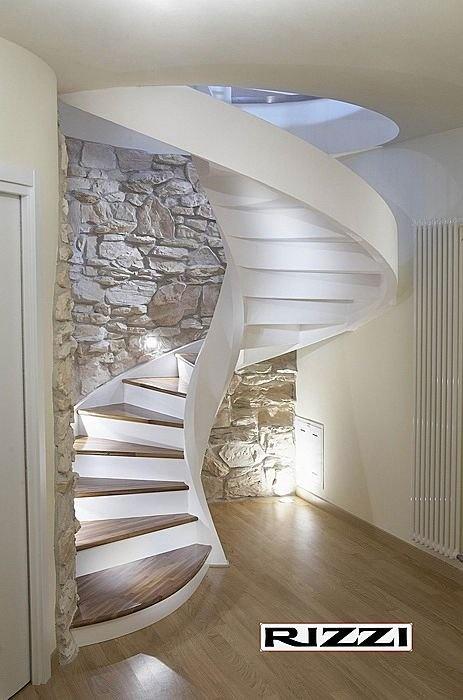 Escalera pedada madera