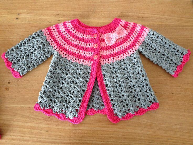 Vestje voor baby Maud