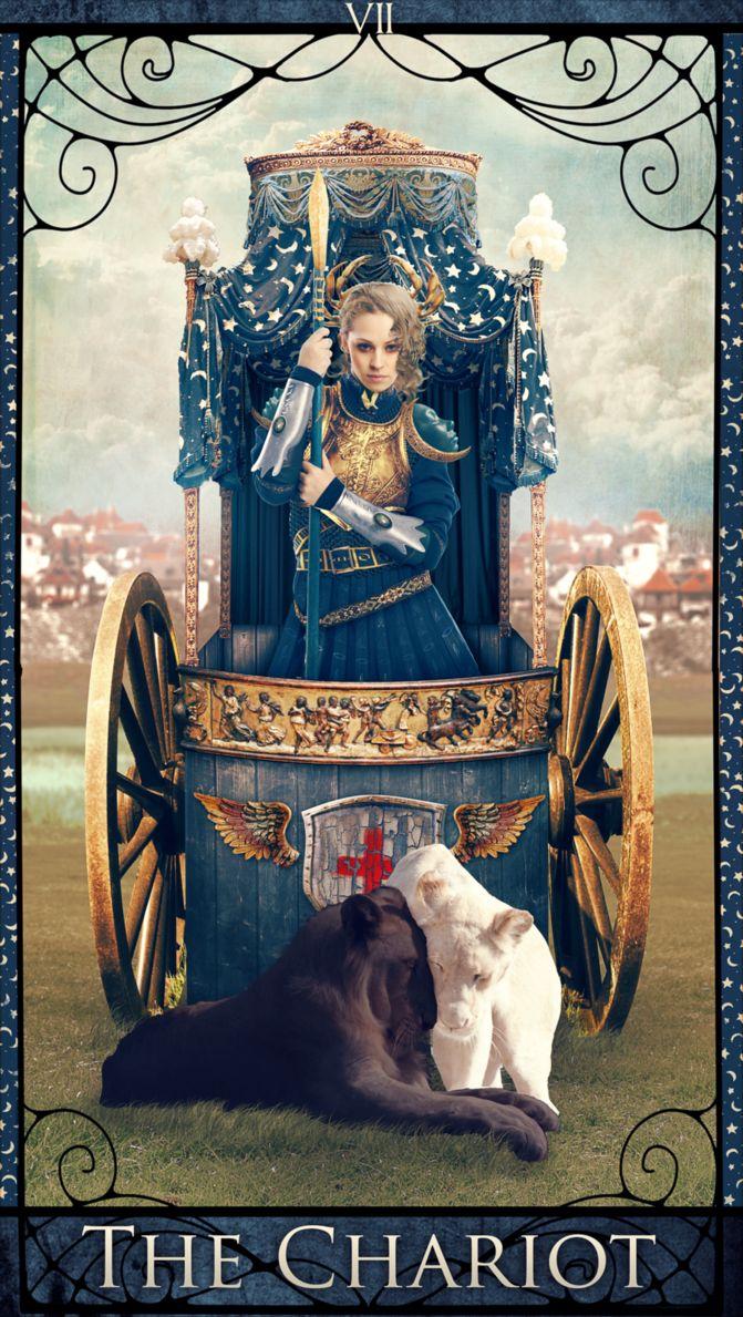 таро колесница картинка храме есть также
