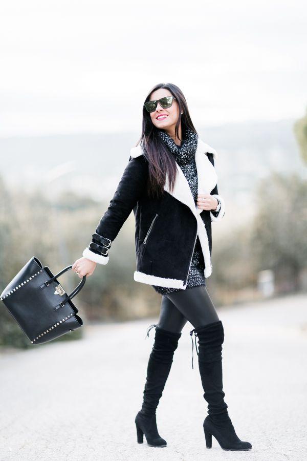 Total look black Moda - Crímenes de la Moda