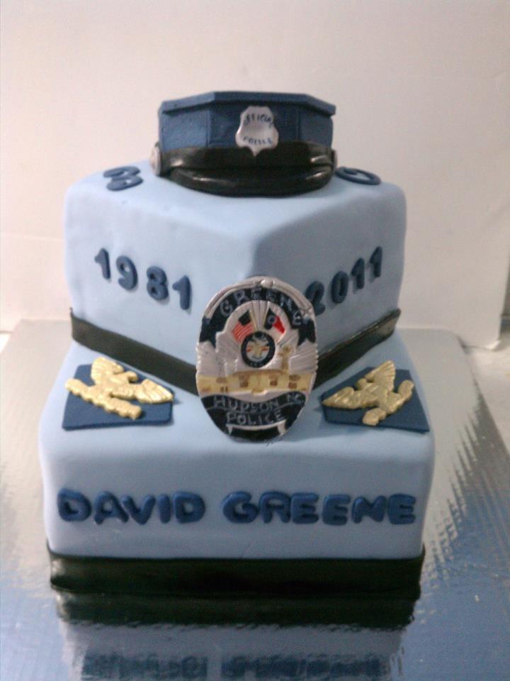 Police Retirement Cake Images : 17 melhores ideias sobre Bolos De Policia no Pinterest ...