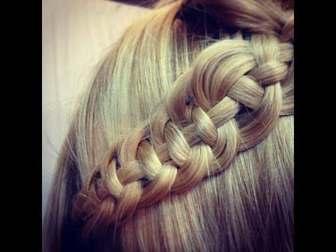 How to Make Celtic Braiding - DIY Hairstyle - AllDayChic