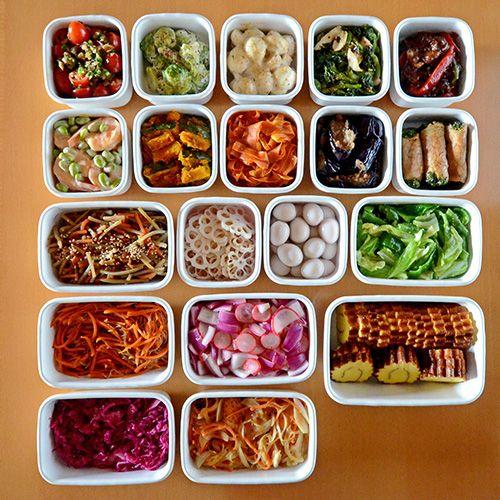 今週も、心の支え作ったよ~ヽ(´▽`)/今日はお弁当お休みなので月曜恒例の常備菜...