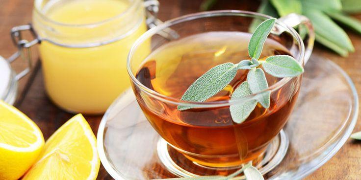 Salbei-Tee bekämpft Schluckbeschwerden | Die besten ... | Praxisvita