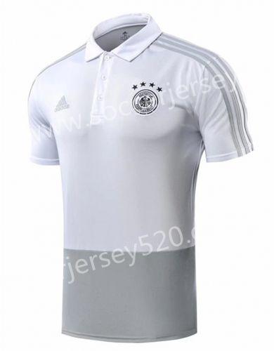 4936e2526 2019 的 2018 World Cup Germany White Thailand Polo Shirt 主题