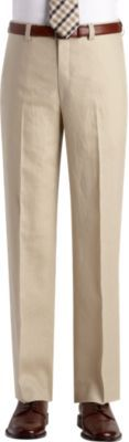 Calvin Klein Tan Linen Suit Separates Slacks | Men's Wearhouse