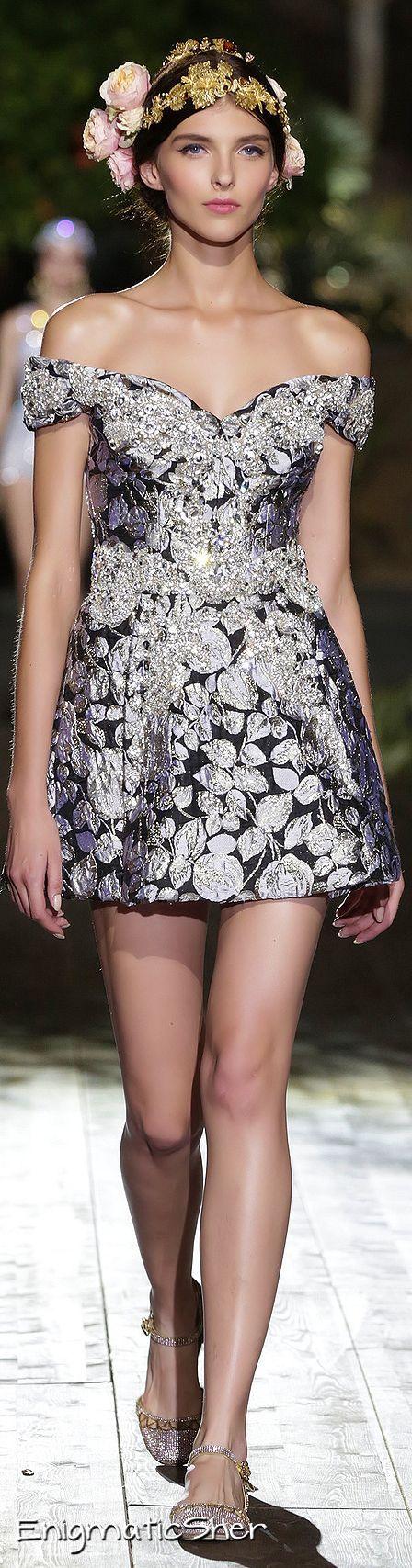 ♡Dolce & Gabbana Couture Alta Moda Fall 2015