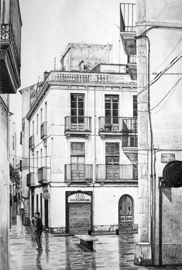 Ms de 25 ideas increbles sobre Edificios dibujo en Pinterest
