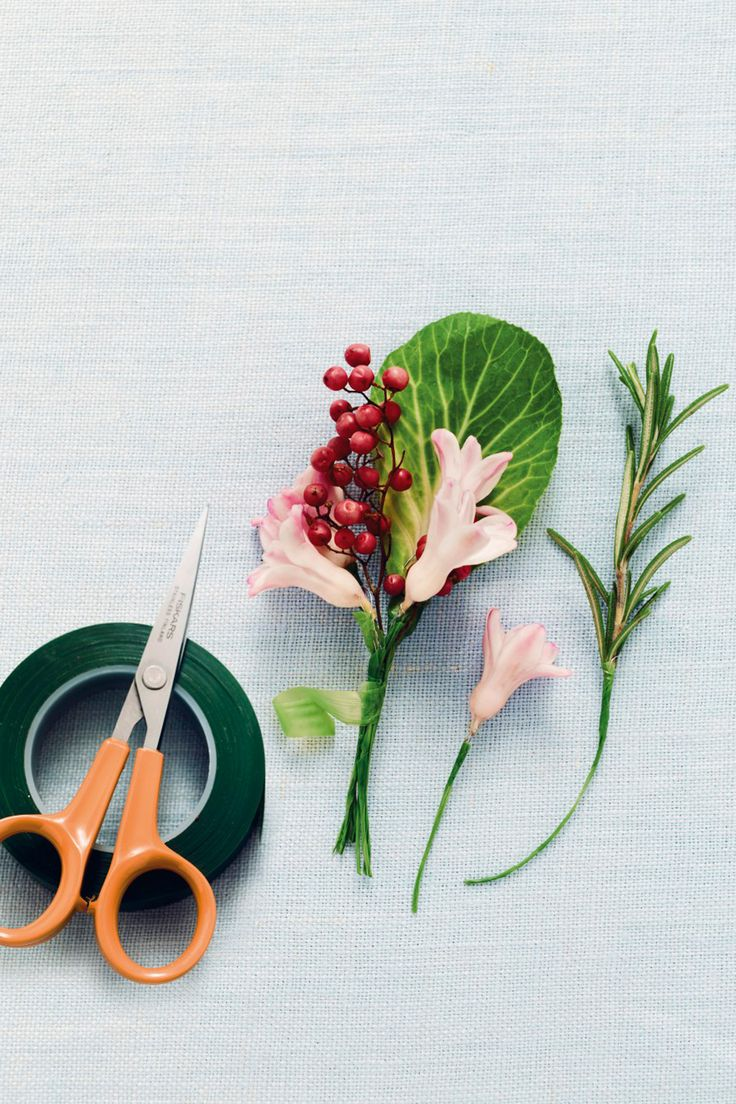 How To Make DIY Buttonhole Video (BridesMagazine.co.uk)