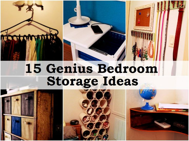 15 Genius Bedroom Storage Ideas 2189 best Bedrooms images on Pinterest   Room  Home and Bedrooms. Diy Organizing Ideas For Bedrooms. Home Design Ideas
