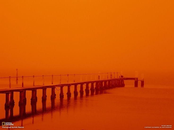orange: Brisbane Waters, Talc Fine Orange, Beautiful Photos, Orange Dust, Awesome Orange, Sunset, Light, Outrageous Oranges