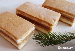 Karácsonyi mézes szelet Glaser konyhájából