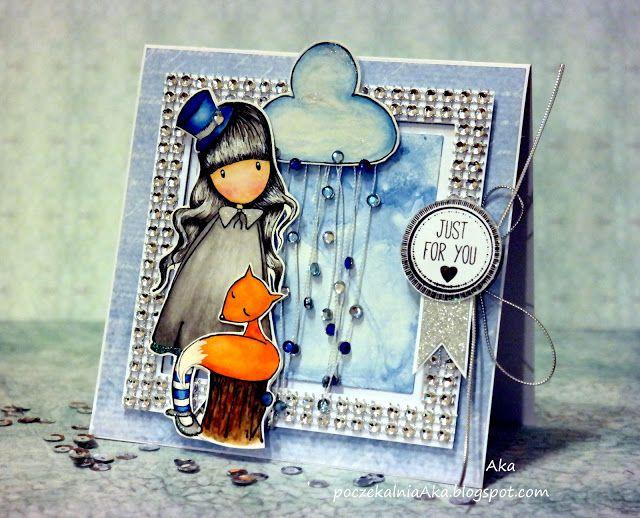 #stamp #santoro #thedreamer #Studio75 #cardmaking #card #poczekalniaAka