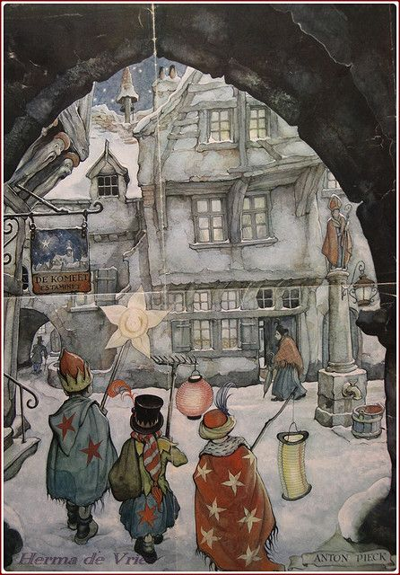 petitpoulailler:    petitcabinetdecuriosites: via Anton Pieck (Dutch painter, artist, graphic artist; 1895-1987) via Flickr