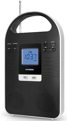 Радиоприемник HYUNDAI H-1603 черный - 1 250.00 руб. - Вес в упаковке: 1.07 кг; Вес: 0.89 кг; USB-порт: Есть; Выходная мощность: 3 Вт; Дисплей: Есть; Количество батарей: 1; Количество динамиков: 2; Количество фиксированных настроек тюнера: 30; Прием: FM;УКВ; Работа от сети: Есть; Тип радиоприемника: переносной; Тип тюнера: цифровой; Тип элементов питания: Nokia; Цвет: черный; Часы: Нет;Купить