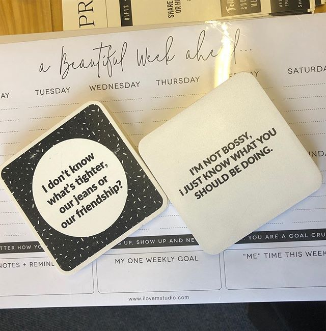 Very wise words!! Printed PhotoBLOX available at PRESENTspace Collective at Kamers/Makers #tightjeans #tightfriendships #kamers2018