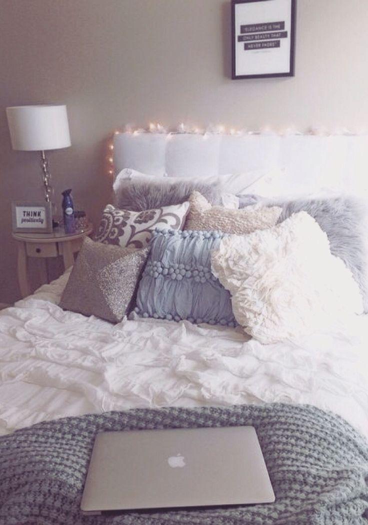 83 best Dorm Room Ideas 2018 images on Pinterest   College ... on Cozy Teenage Room Decor  id=28253