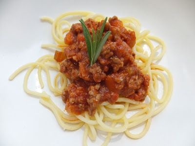 Special spagetti bolognese - The Free From Fairy