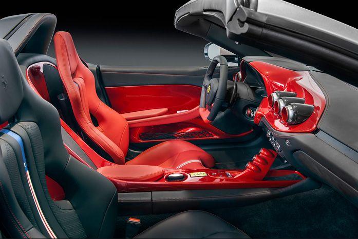 2018 Ferrari F60 America Interior Decorations