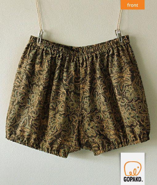 Handmade Iyengar Yoga Shorts Batik By GOPAKO On Etsy, $22