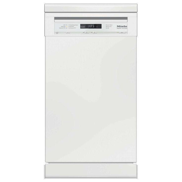 Miele G4722SC Freestanding Slimline Dishwasher at John Lewis