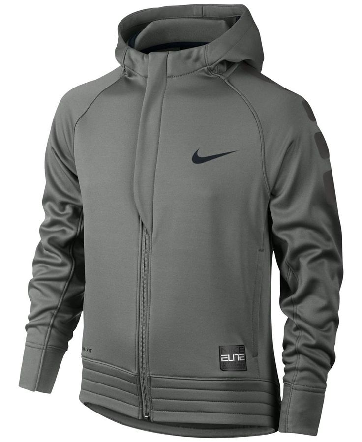 Nike Boys' Elite Stripe Zip-Up Hoodie