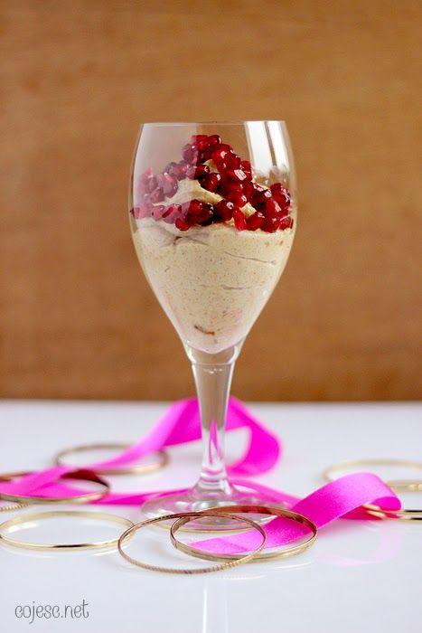 Zdrowe Odżywianie: Dietetyczne Przepisy: Obłędny krem waniliowy z granatem!
