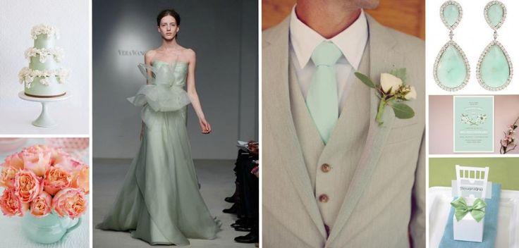 mint green wedding ideas - Google Search