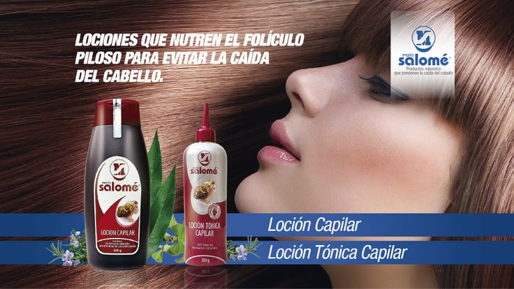 Para cada necesidad, una solución, las lociones capilares maria salome ayudan a prevenir la caída del cabello, aplícala solo en la raíz. La Loción Tónica Capilar tiene glicerina por lo que se recomienda para cabello seco.