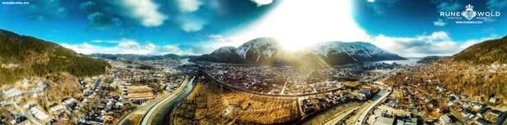Check out this amazing photo on SkyPixel: Mosjøen Norway 180 April 2015