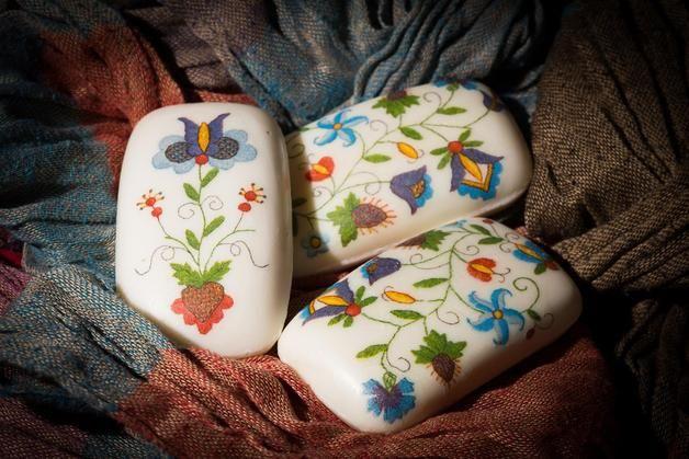 Mydełka kaszubskie - Chameleon-hand-made-factory - Mydła