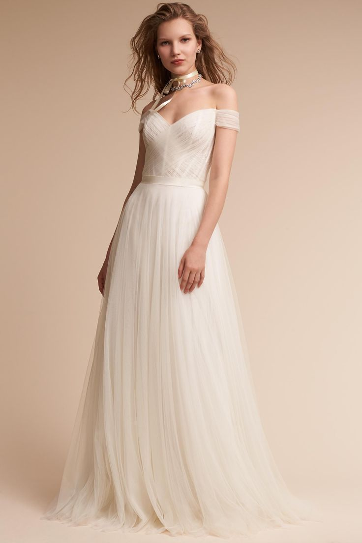 This gown is beautiful! I love the detail in it, which is accomplished without crazy lace or beading.
